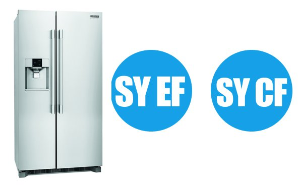 Frigidaire refrigerator all error codes list