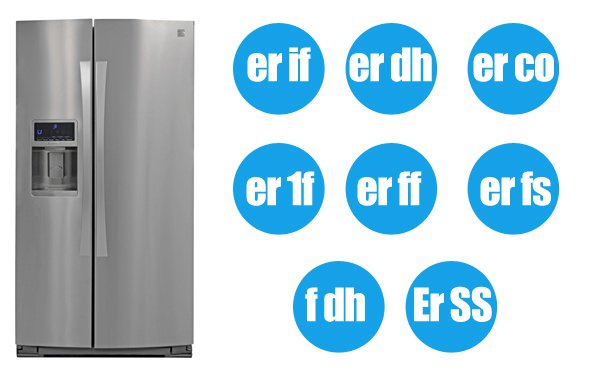 Kenmore refrigerator all error codes list