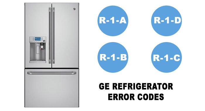 GE refrigerator error codes