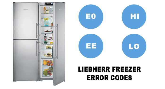 Liebherr Freezer error codes