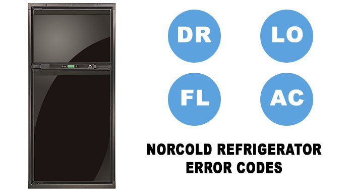 Norcold refrigerator all error codes list
