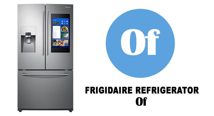 Samsung refrigerator error codes 0f