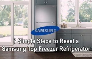 3 Simple Steps to Reset a Samsung Top Freezer Refrigerator
