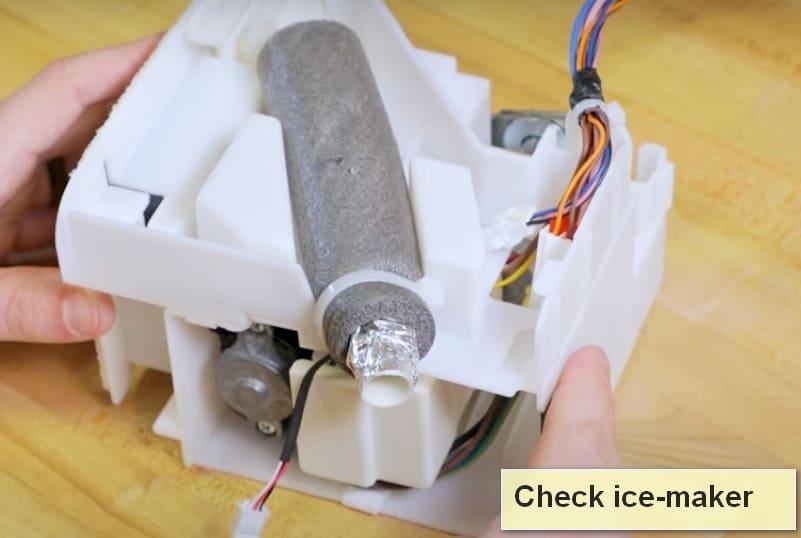 Samsung refrigerator error code 33 E ice-maker
