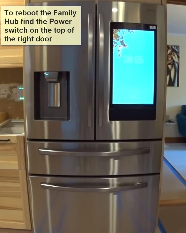 Samsung refrigerator error code 41 reboot