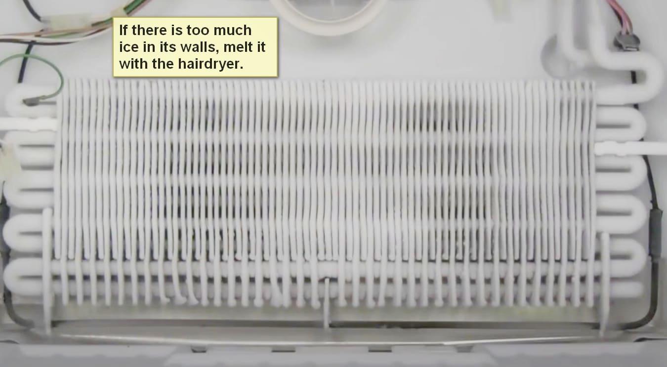 Samsung refrigerator error code 5 e ice