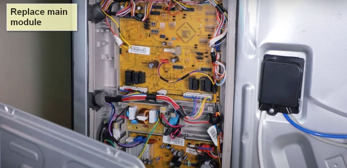 Samsung refrigerator error code 88 main module