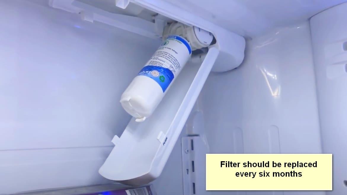 LG Refrigerator Not Making Ice water filter