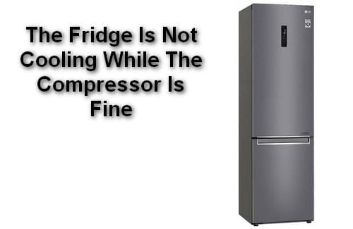 The Fridge Is Not Cooling While The Compressor Is Fine
