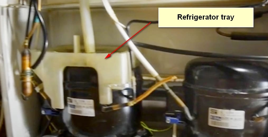 The Leakage In Your Refrigerator Reasons and Troubleshooting Refrigerator tray