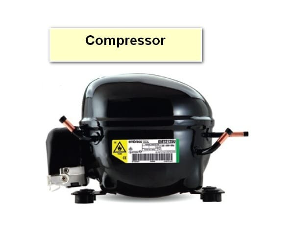 The Refrigerator Is Not Cooling But The Light Is On Compressor