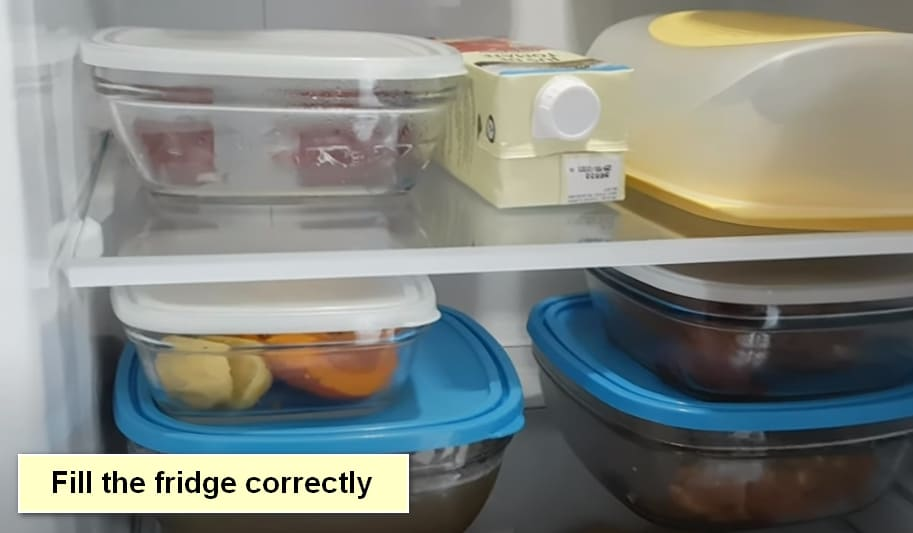 The Refrigerator Service Life Fill the fridge correctly