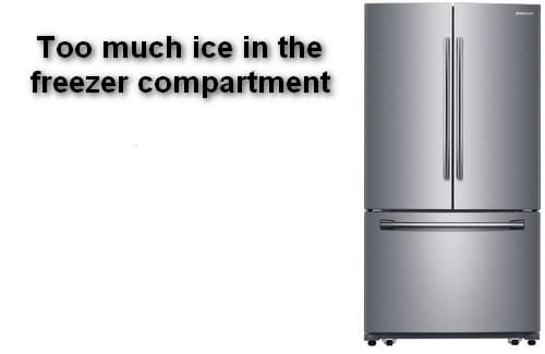 The Refrigerator is Freezing Food
