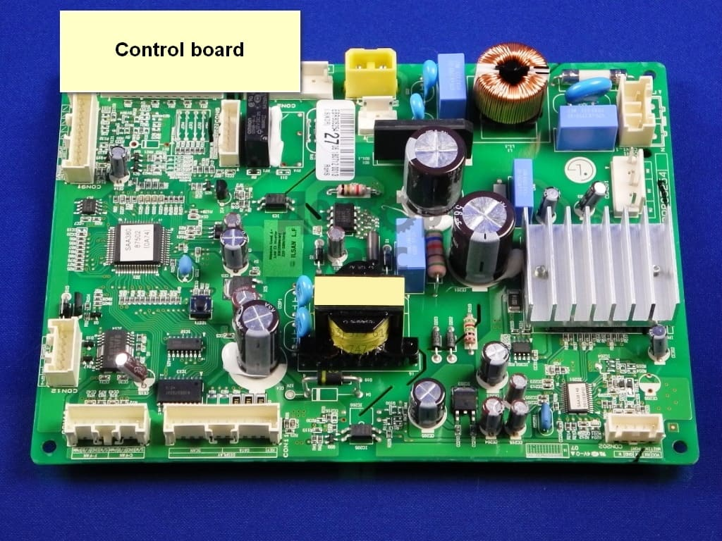 Why Samsung Refrigerator Is Not Cooling Control board