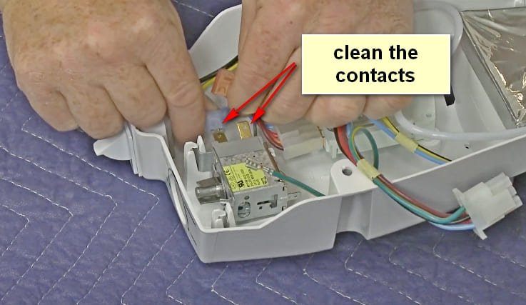 How to Test a Refrigerator Thermostat Clean Contacts